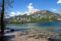 Grand Tetons Jenny Lake and Peak