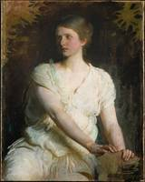 Abbott Handerson Thayer - lady