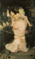 John William Waterhouse , The Lady of Shallot Look
