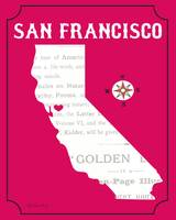 San Francisco, California Map