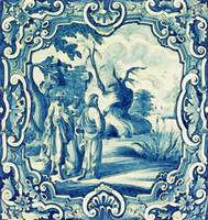 A South-German faience stove tile second half 18th