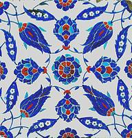 An Iznik polychrome tile, Turkey, circa 1575, by A