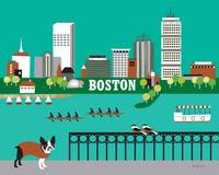 Boston, Massachusettes - Horizontal