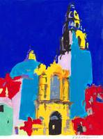 Balboa Park Mod Abstract
