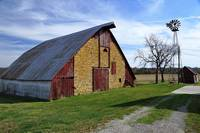 Atchison County Stone Barn