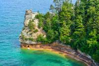 Miner's Castle Pictured Rocks