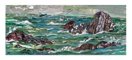DNG Seascape Green Storm