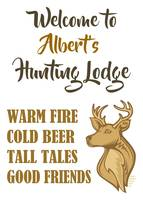 ALBERT'S HUNTING LODGE