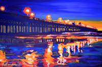 Oceanside Pier at Night