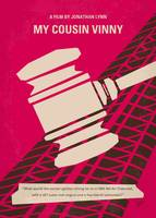 No852 My Cousin Vinny minimal movie poster