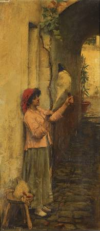 John William Waterhouse, R.A., R.I. 1849-1917 A NE