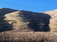 Hobble Creek Canyon UT hill shadows