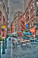 New York City cafe scene