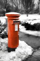 Famous red pillar box