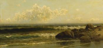 Alfred Thompson Bricher 1837 - 1908 ON THE COAST