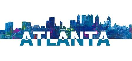 Atlanta_Skyline_Scissor_Cut_Giant_Text