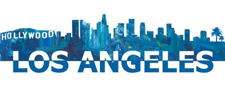Los_Angeles_Skyline_Scissor_Cut_Giant_Text