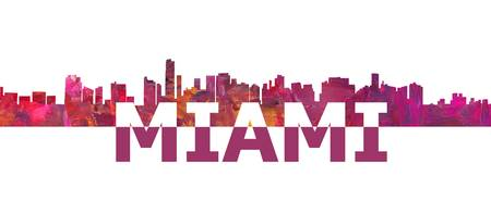 Miami_Skyline_Scissor_Cut_Giant_Text