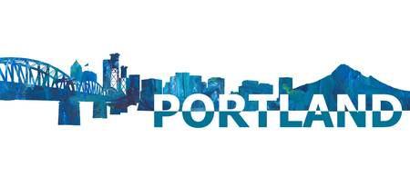 Portland_Skyline_Scissor_Cut_Giant_Text