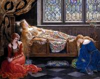 John Collier The Sleeping Beauty