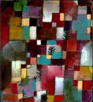Paul Klee Red Green and Violet-Yellow Rhythms
