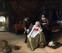 Jan Steen The Lovesick Maiden