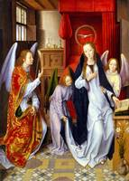 Hans Memling The Annunciation