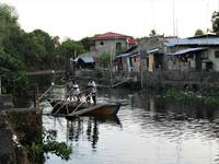 Water taxi - Ta'al River, Batangas, Philippines -