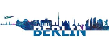 Berlin Skyline in Clean Scissor Cut Style II