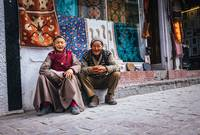 Leh town people, Ladakh , Jammu and Kashmir, India