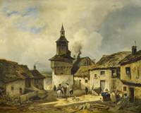 GUÉ, JULIEN MICHEL 1789 San Domingo - 1843 Paris ,