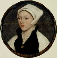 Hans Holbein the Younger - Portrait of a Young Wom