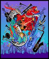 Jazz Musicians Musical Instruments