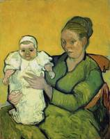 PORTRAIT OF MADAME AUGUSTINE ROULIN AND BABY MARCE