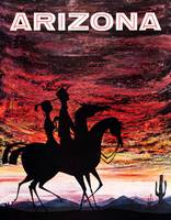 Colorful Vintage Arizona on Horseback Travel