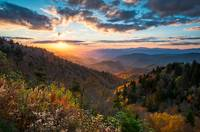 Great Smoky Mountains National Park NC Scenic Autu