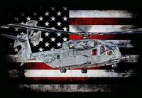 CH-53K KING STALLION HORIZ BLACK