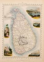 Map of Ceylon Map of Ceylon