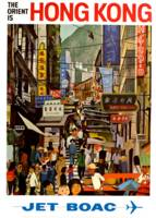 Vintage Airline Hong Kong China Travel