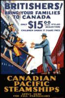 Vintage Canadian Pacific Steamships Canada Travel