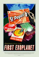 Vintage 51 Pegasi b First Exoplanet Travel