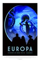 Vintage Europa Life Under the Ice Space Trave