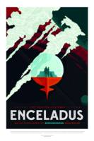 Vintage Enceladus Space Travel