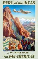 Vintage Airline Peru Travel