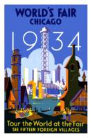 Vintage Chicago World's Fair 1934