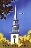 Vintage New England Airline Travel