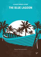 No871 My Blue Lagoon minimal movie poster