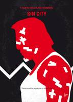 No304-1 My SIN CITY minimal movie poster