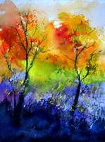 Autumn watercolor 712111