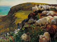 Our English Coasts , William Holman Hunt, 1852
